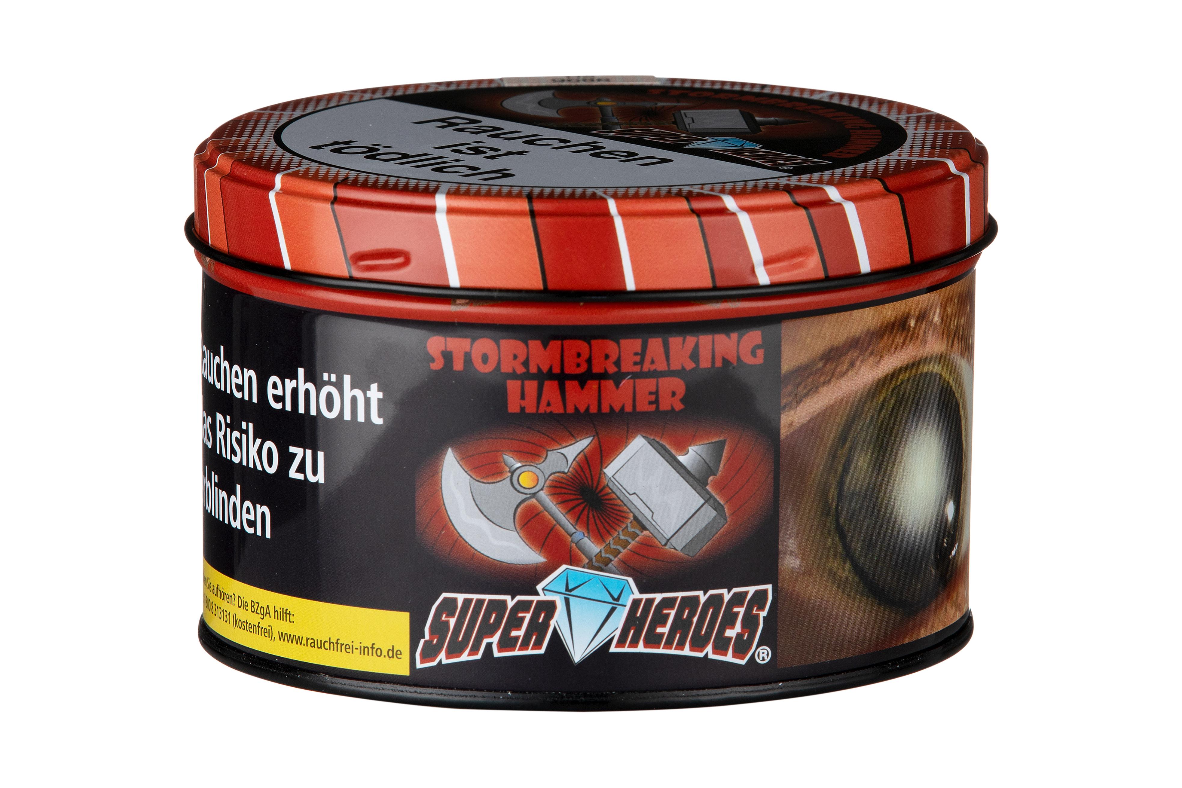 Super Heroes Wasserpfeifentabak Stormbreaking Hammer