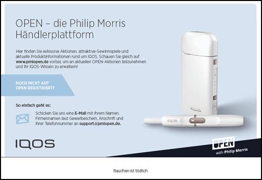 IQOS Informationspaket