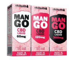 nikoliquids Mango CBD Liquids
