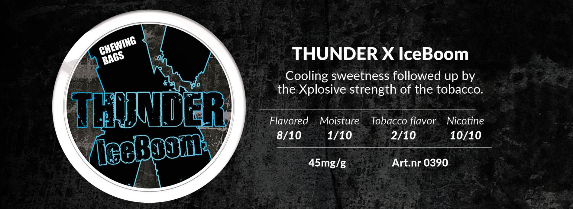 Thunder X Ice Boom