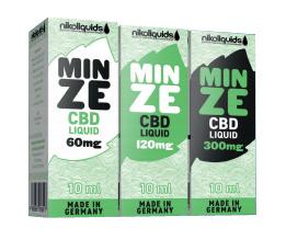 nikoliquids Minze CBD Liquids