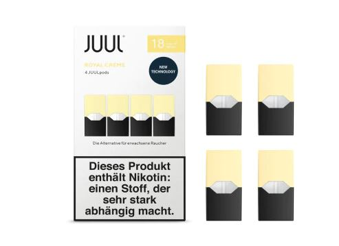 Juul Royal Creme Liquid Pod 18mg Nikotin 0,7ml
