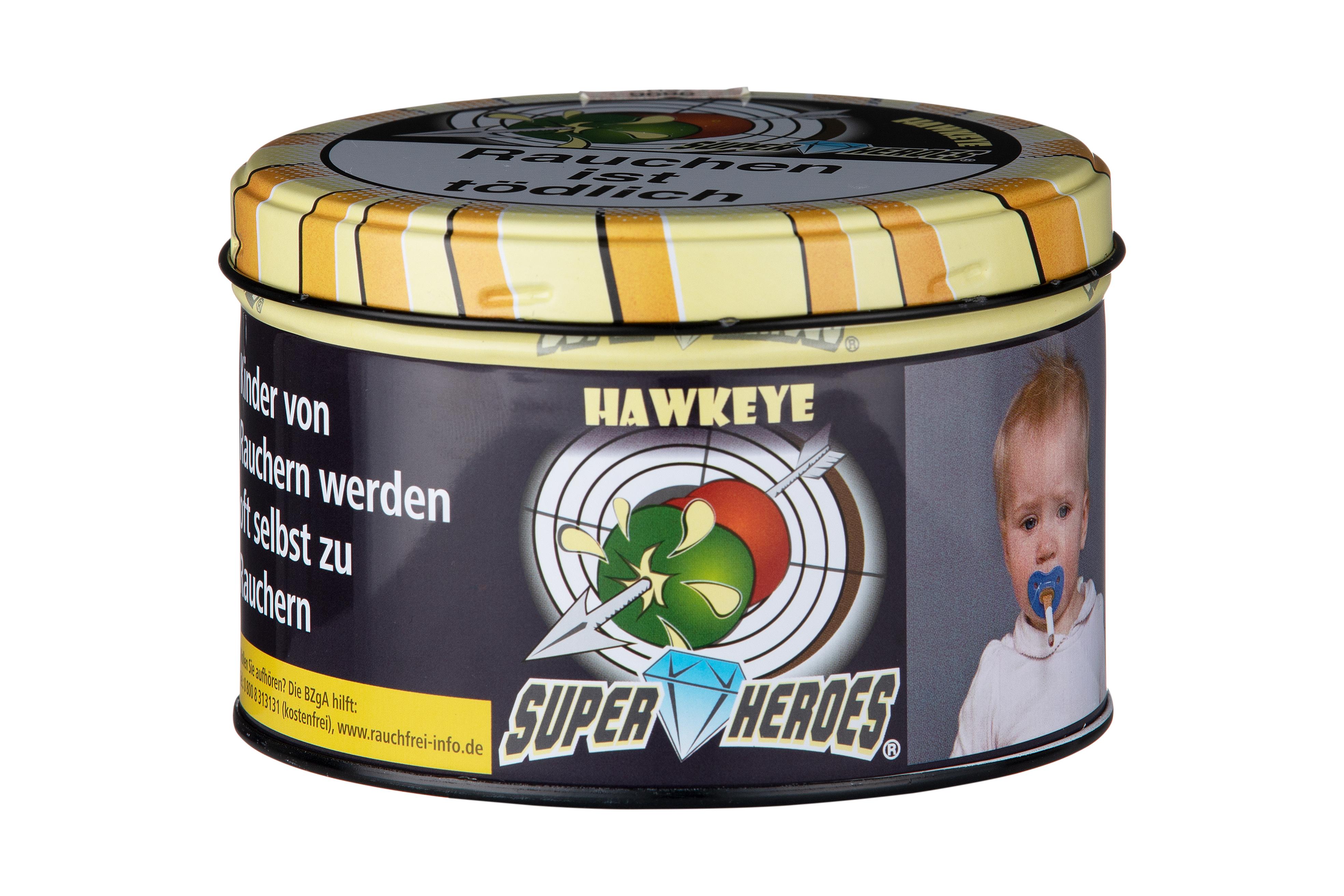 Super Heroes Wasserpfeifentabak Hawkeye