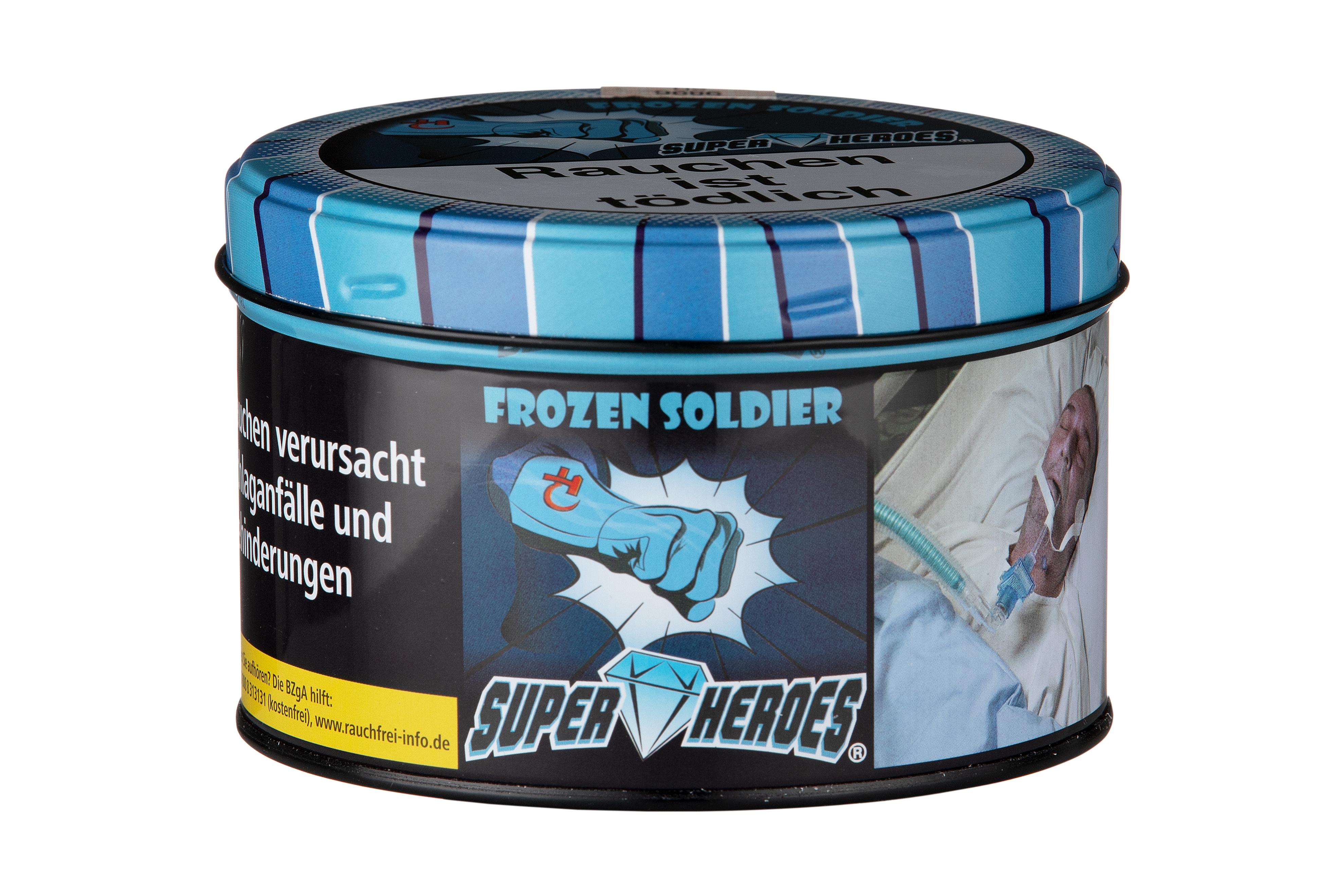 Super Heroes Wasserpfeifentabak Frozen Soldier