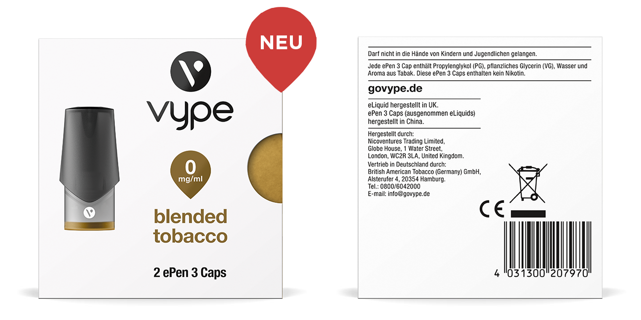 Vype ePen 3 Blended Tobacco