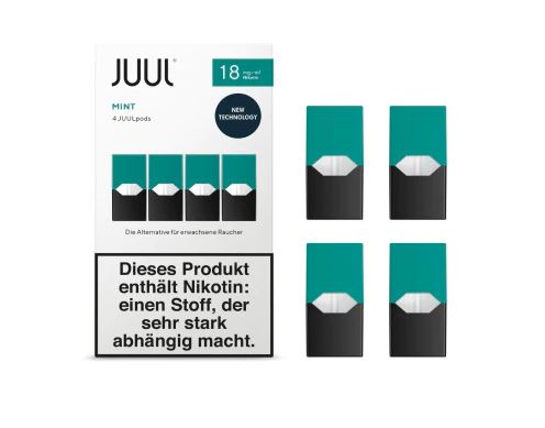 Juul Mint Liquid Pod 18mg Nikotin 0,7ml