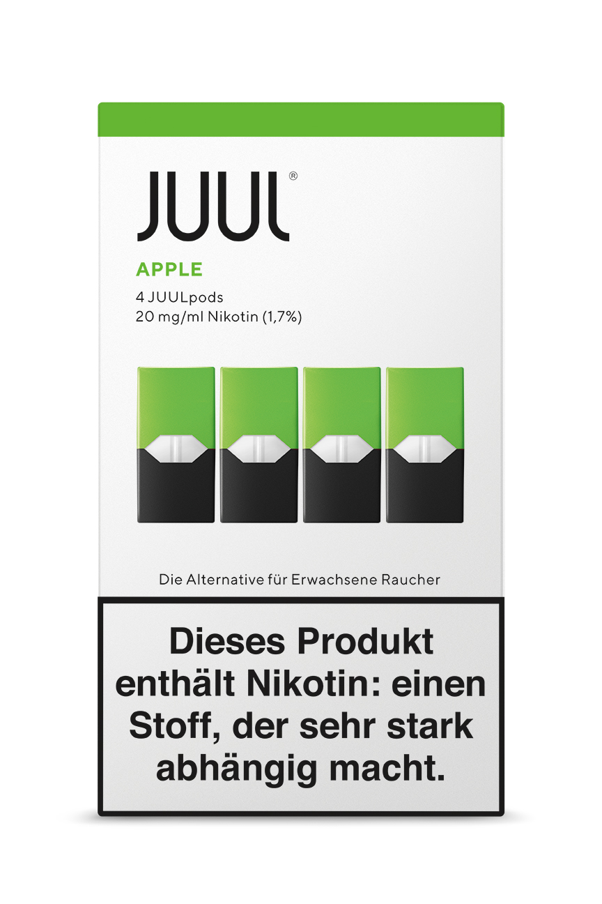 Juul Apple Liquid Pod 20mg Nikotin 0,7ml