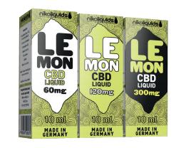 nikoliquids Lemon CBD Liquids