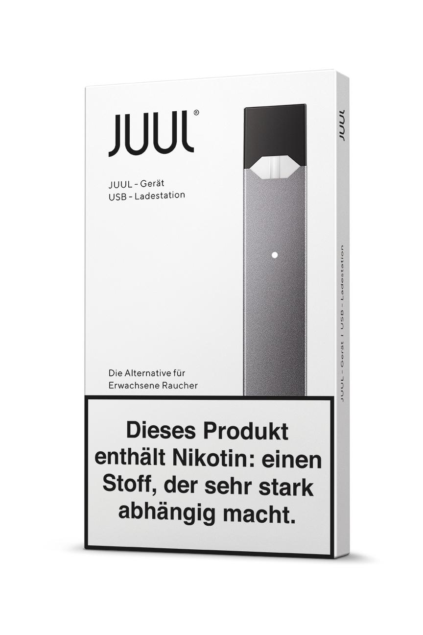 Juul Device Kit Gerät und Ladestation