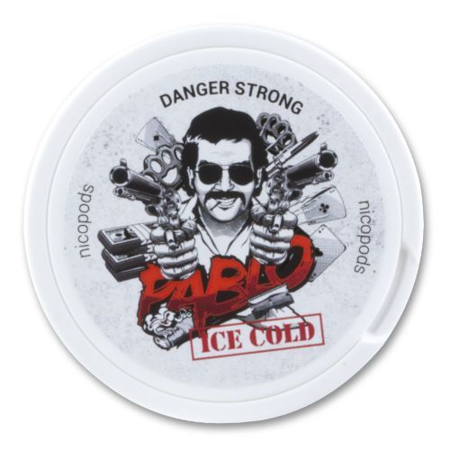 PABLO Ice Cold Danger Strong Nicopods