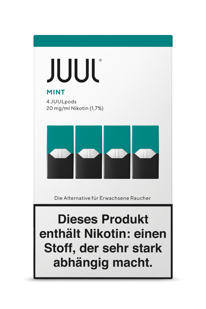 Juul Mint Liquid Pod 20mg Nikotin 0,7ml