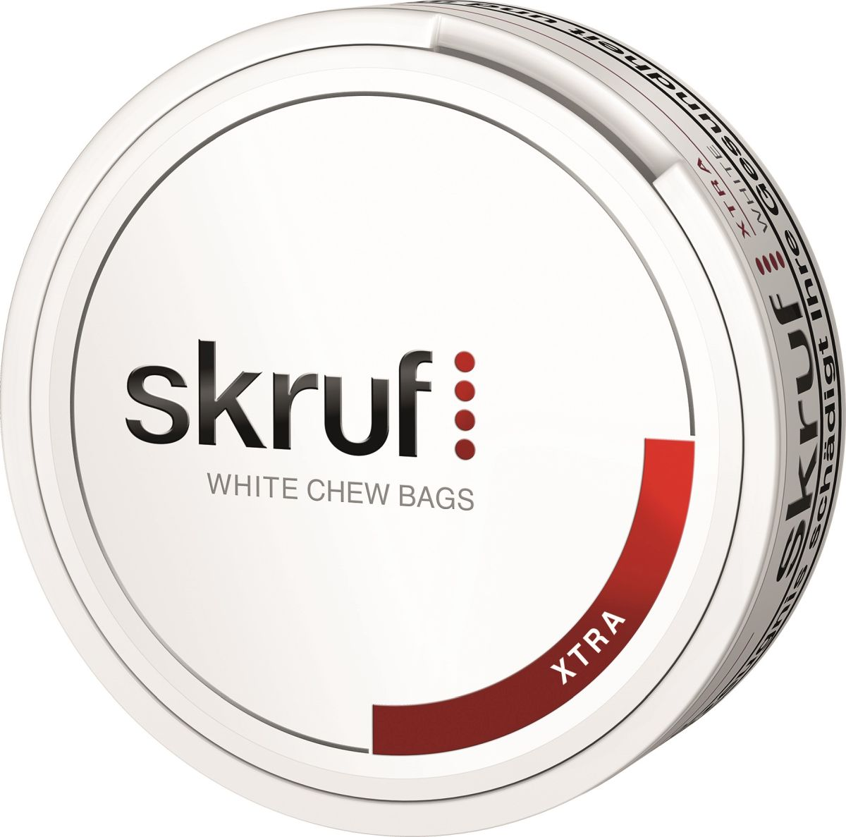 Skruf Xtra White Chewing Bag