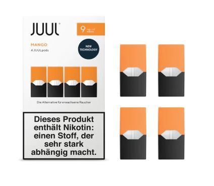 JUUL Mango Liquid Pod 9mg Nikotin 0,7ml