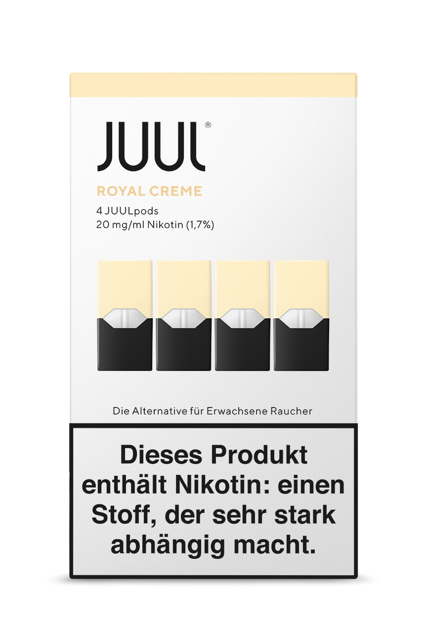 Juul Royal Creme Liquid Pod 20mg Nikotin 0,7ml