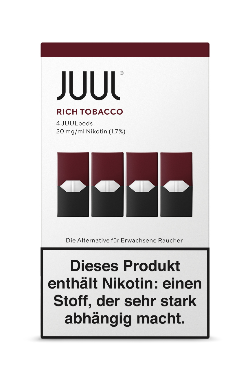 Juul /rich-tobacco-liquid-pod-20mg-nikotin-0-7ml
