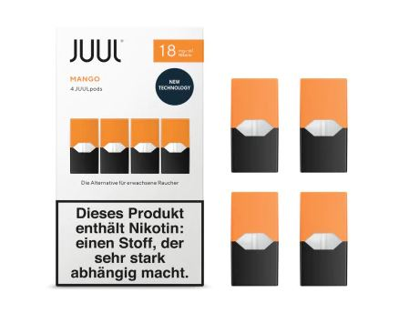 Juul Mango Liquid Pod 18mg Nikotin 0,7ml